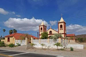 The Catholic Church located in El Triunfo, Los Cabos, Baja California Sur.