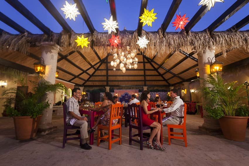 Don Sanchez Restaurant in downtown San Jose del Cabo, Los Cabos.