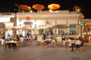 Molly's Restaurant Bar, downtown San Jose del Cabo.