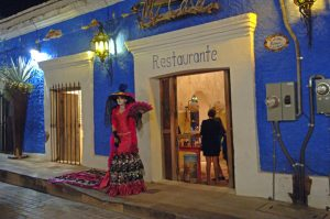 Mi Casa Restaurant during the art walk in San Jose del Cabo